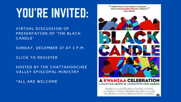 JOIN US: VIRTUAL DISCUSSION OF 'THE BLACK CANDLE'
