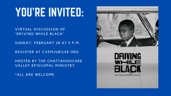 Join Us: Virtual Discussion of 'Driving While Black'
